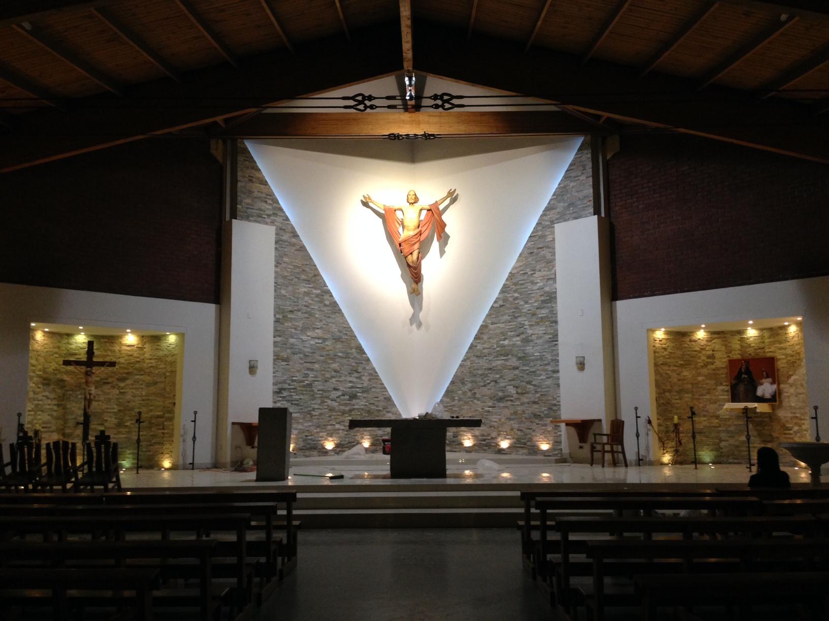Remodelación Presbiterio Parroquia Nstra. Sra. del Carmen